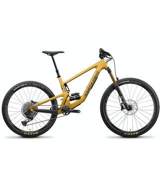 2022 Santa Cruz Bronson 4 - X01 / CarbonCC / MX - Gold  - Medium