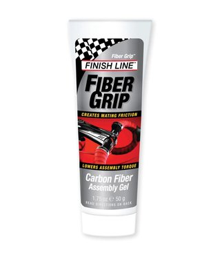 Finish Line Fiber Grip Carbon Assembly Paste - 50g / 1.75oz