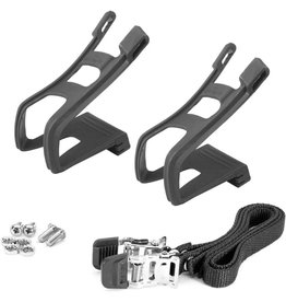 WELLGO Wellgo DeLuxe Toe-Clip Set