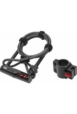 BikeGuard RockLock 1320 U-Lock and Cable Combo