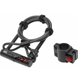BikeGuard RockLock 1320 U-Lock and Cable Combo