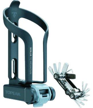 Topeak Ninja TCM Cage and Multi-Tool Kit