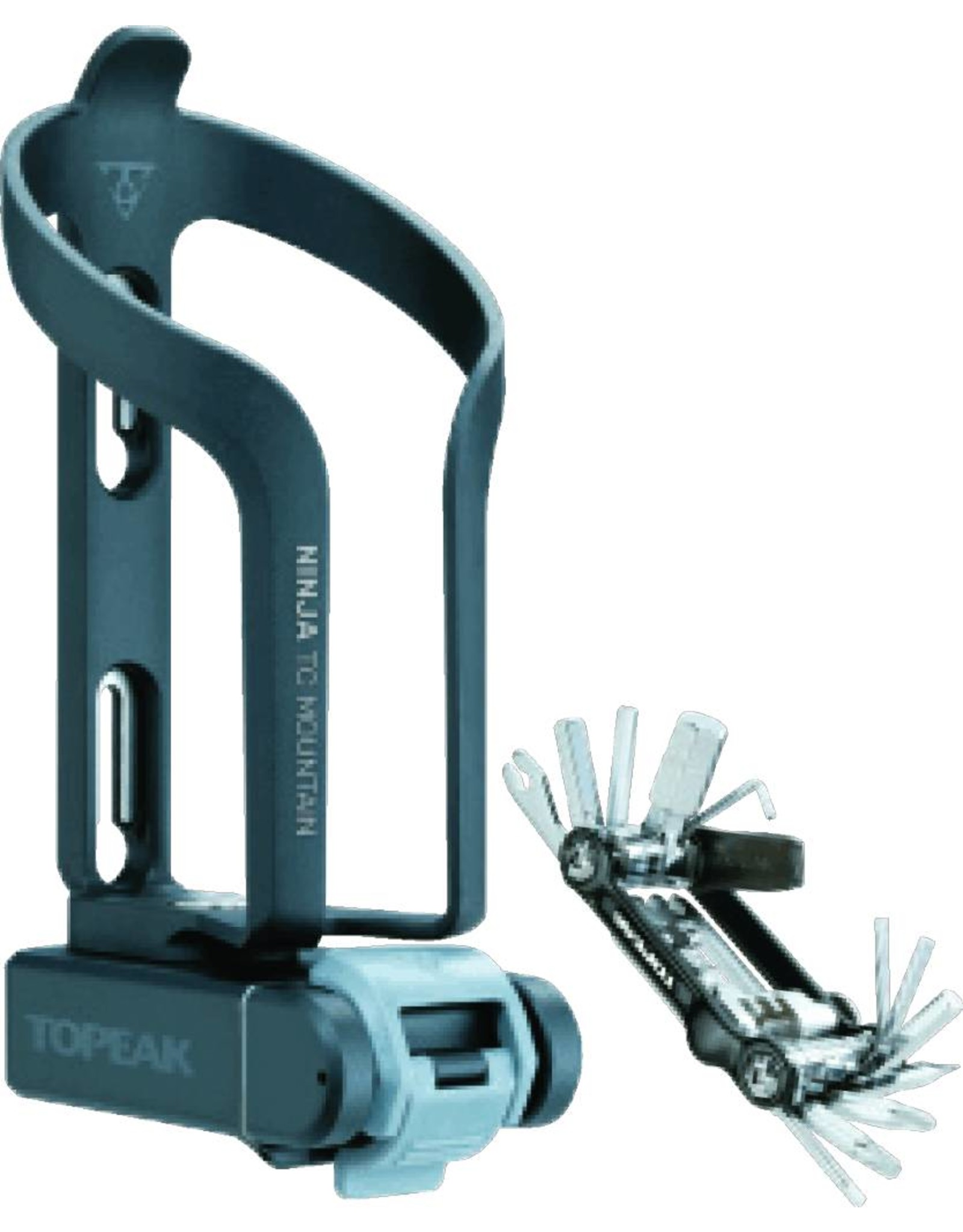Topeak Ninja TCM Cage and Multi-Tool Kit
