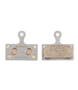 Plaquettes de freins métalliques Shimano XTR BR-M9000 - G04Ti