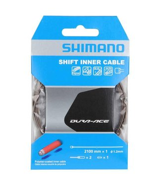 Shimano Polymer Coated Stainless Shift Cable
