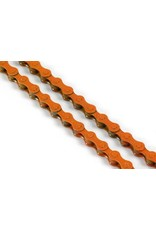 KMC 410 Single Speed Chain - Orange