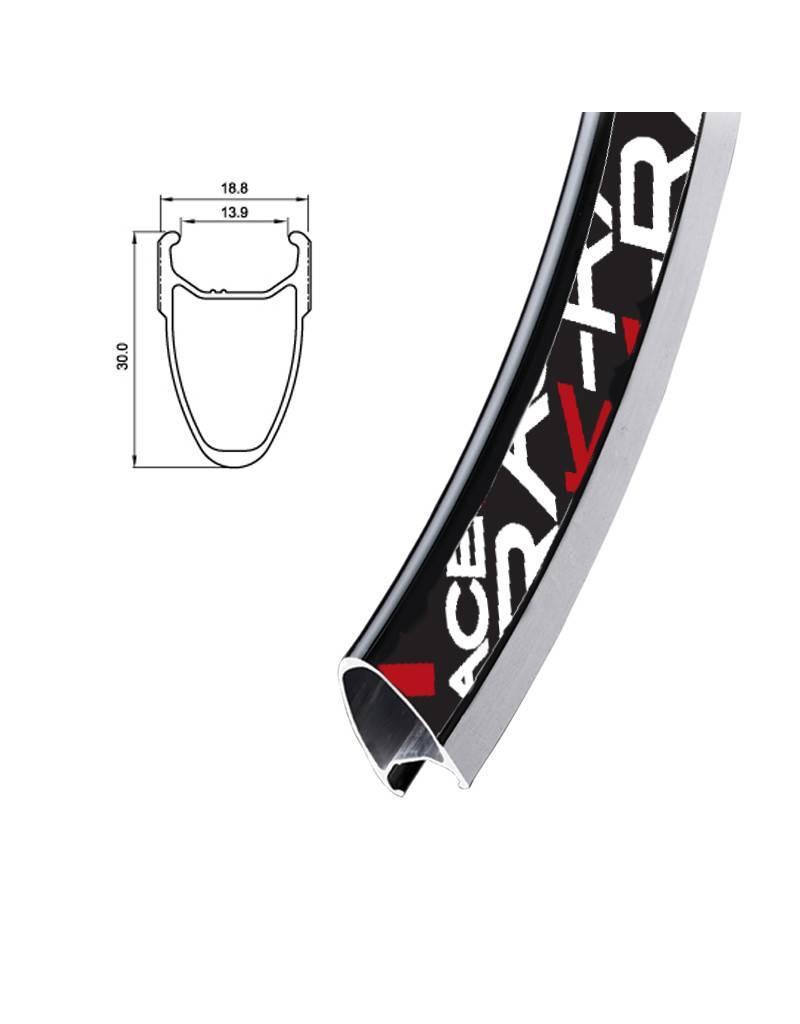 K-Race Jante K-Race LT ( Light ) 700c 32 trous CNC - Noir