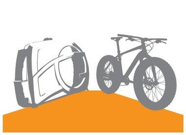 Location de vélos et boîtes de transport