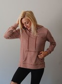 Z-Supply Striped Soft Spun Knit Hoodie
