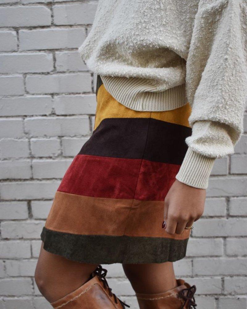 The Autumn Feels Skirt