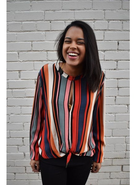 The All Over Striped Blouse