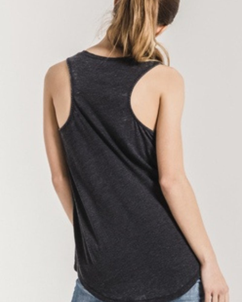 Z-Supply Pocket Racer Tank in Black + White + Green