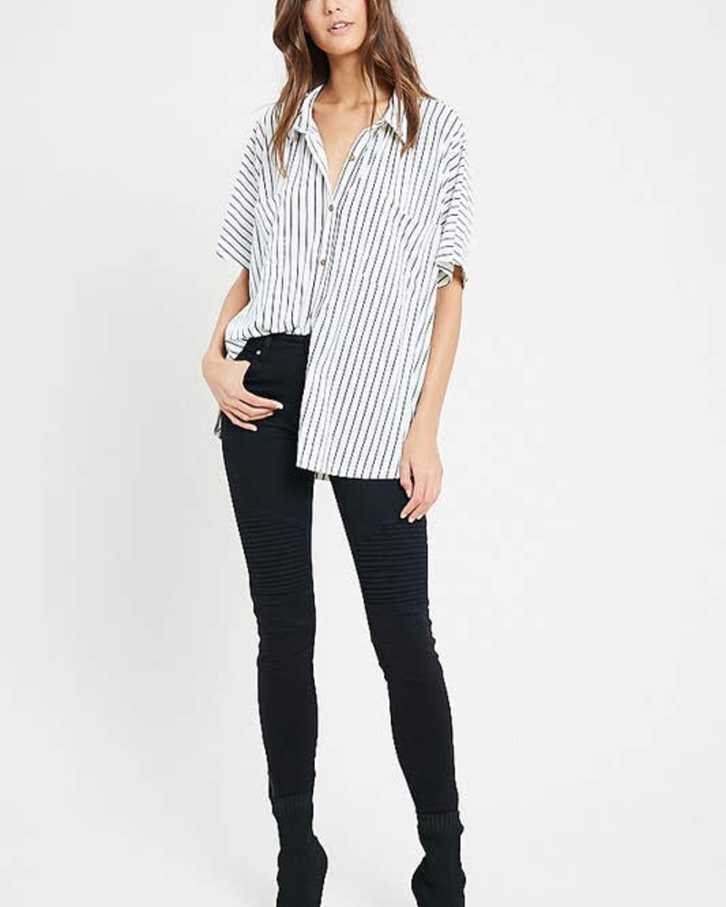 The Kit Simple Stripe Top