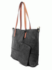Brushed 2-in-1 Tote