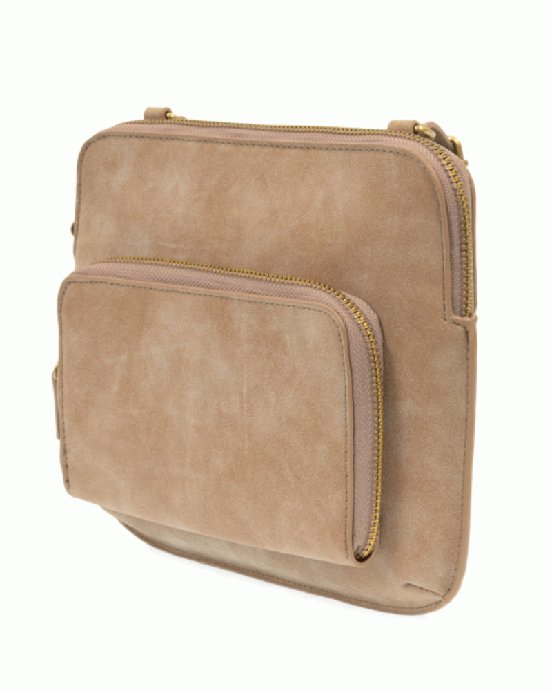 Nicole Distressed Crossbody
