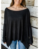 The Billie Dolman Sleeve Oversized Top