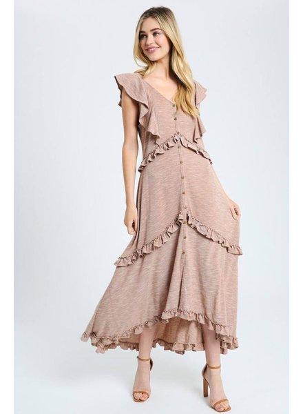 The Joyner Ruffle Maxi Dress