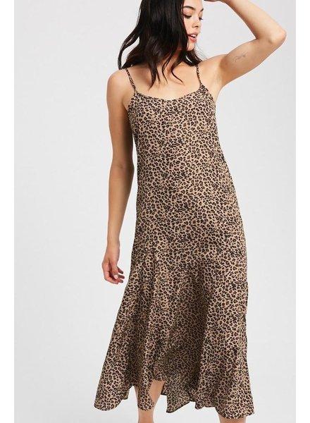 The Spencer Cheetah Midi Dress