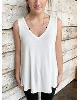 The Everyday Tunic in Ivory