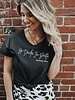 He Decides I'm Beautiful Tee in Black