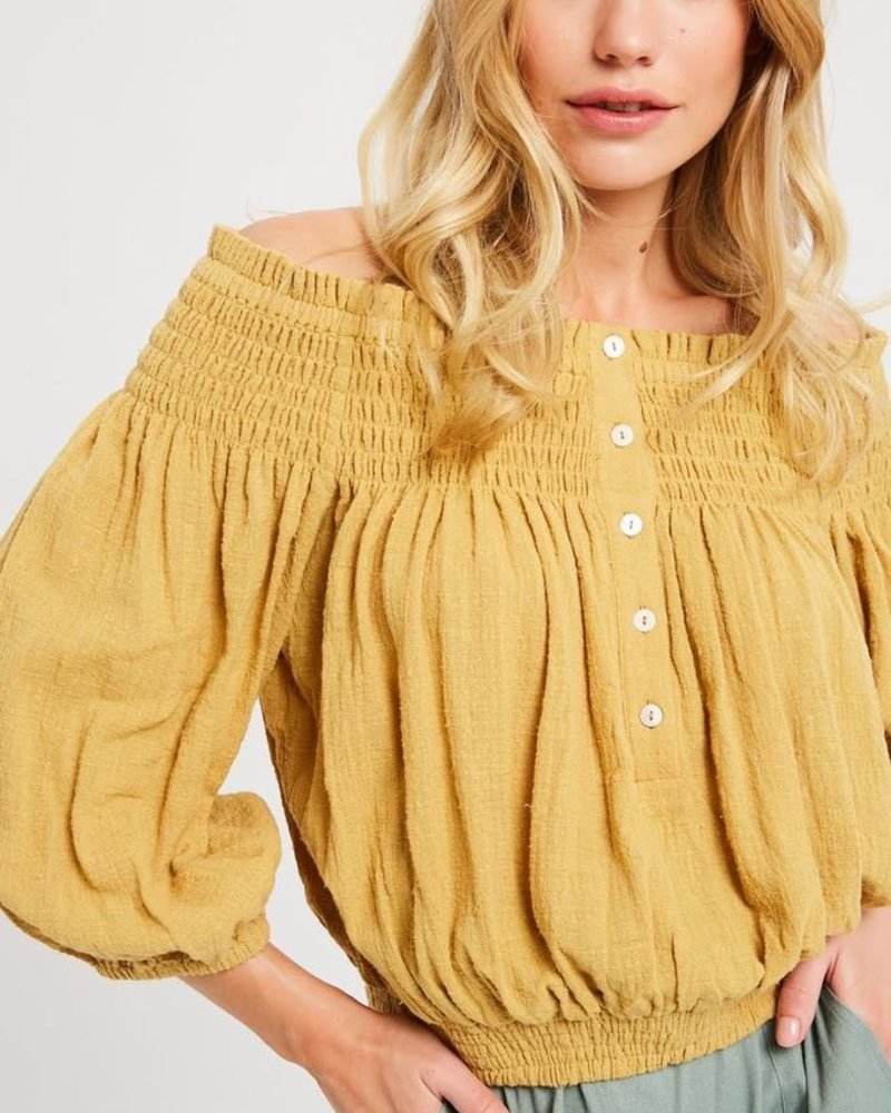 The Erin Off the Shoulder Top