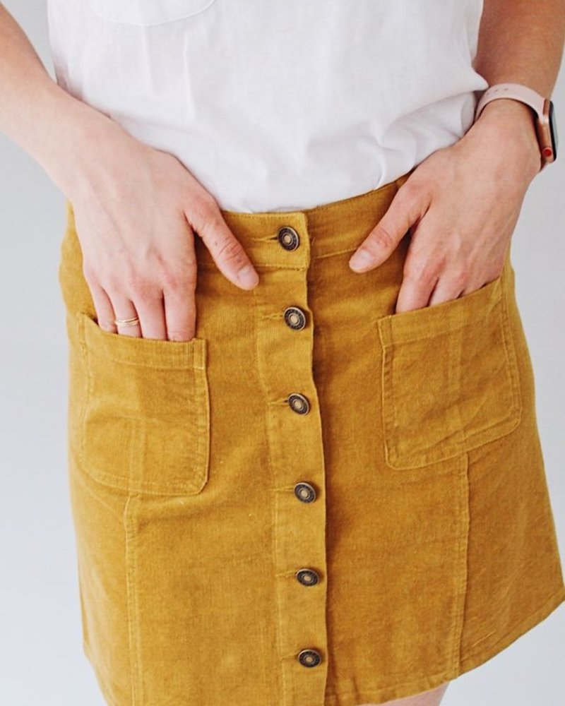 The Piper Corduroy Skirt