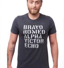 AUTHENTIC BRAVE APPAREL UNISEX BRAVO T-SHIRT