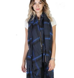 GRAND INT'L PLAID BOUCLE SCARF