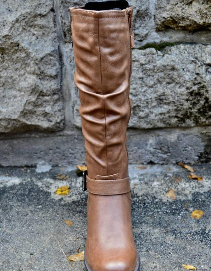 Olivia Tall Tan Wide Calf Boot Jacq Y Jaye S Boutique Espresso Bar