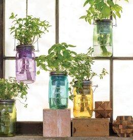 MODERN SPROUT GARDEN JAR - ECO PLANT HANGER