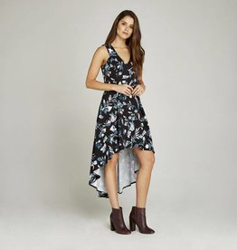 BOUQUET HI-LO DRESS