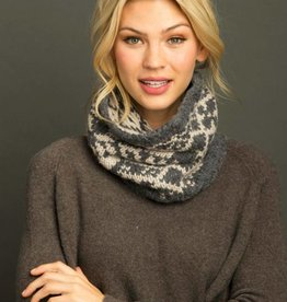 LEMON SALT LAKE SNOWFLAKE SNOOD