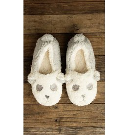 LEMON PANDA OXFORD SLIPPERS