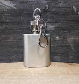 SPLASH STAINLESS STEEL FLASK KEY RING