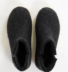 GLERUP BOOT BLACK RUBBER SOLE