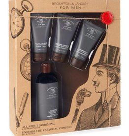 ALL ABOUT MEN MENS 4 PC GROOMING KIT