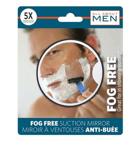 ALL ABOUT MEN MENS SUCTION ANTIFOG SHAVING MIRROR