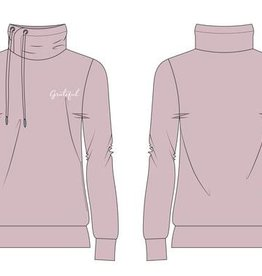 AUTHENTIC BRAVE APPAREL GRATEFUL PINK HOODIE