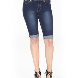 CARRELI HIGH RISE DENIM SHORT