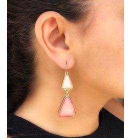 DANGLE COLORED EARRINGS