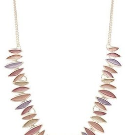 BY CHANCE PASTEL ABSTRACT NECKLACE