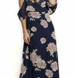 DEX COLD SHOULDER MAXI DRESS