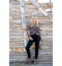 ESQUALO PRAIRIE FLOWER BLOUSE