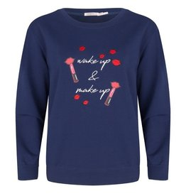 ESQUALO WAKE UP MAKE UP SWEATER