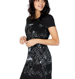 SCHWIING OLIANA POCKET FRONT FITTED DRESS