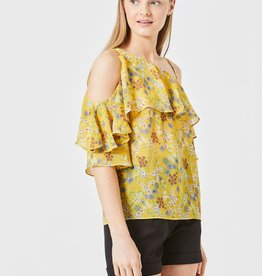 ANGEL EYE LUCY OFF SHOULDER FLORAL TOP