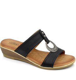 LADY COMFORT LISBON SLIDE IN SANDAL