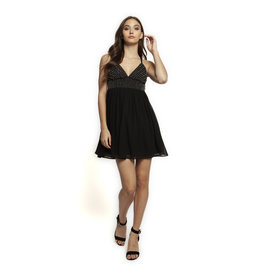SWEETHEART NECKLINE A-LINE DRESS
