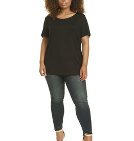 DEX PLUS SCOOP NECK T-SHIRT