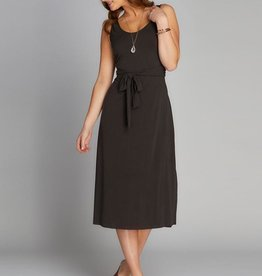 C'EST MOI BAMBOO WRAP BACK DRESS